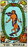 Astrology: The World Tarot Card